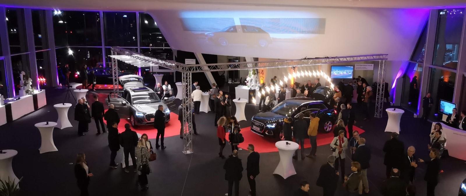 Lancement de véhicule Audi Q3 à Angers