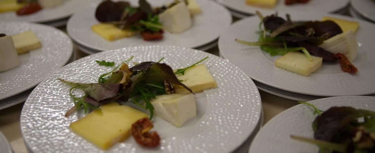 fromage assiette martelée